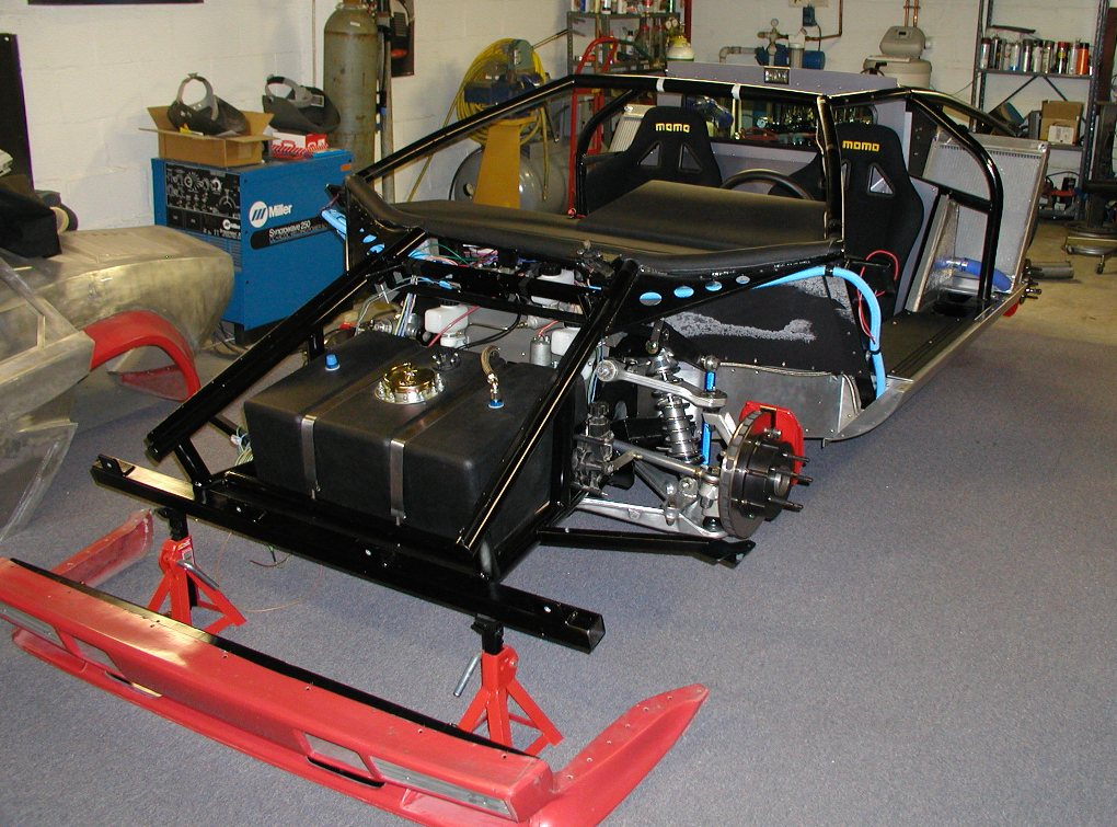 Gorgeous Diy Lamborghini Countach In Your Basement In Just 10 Years